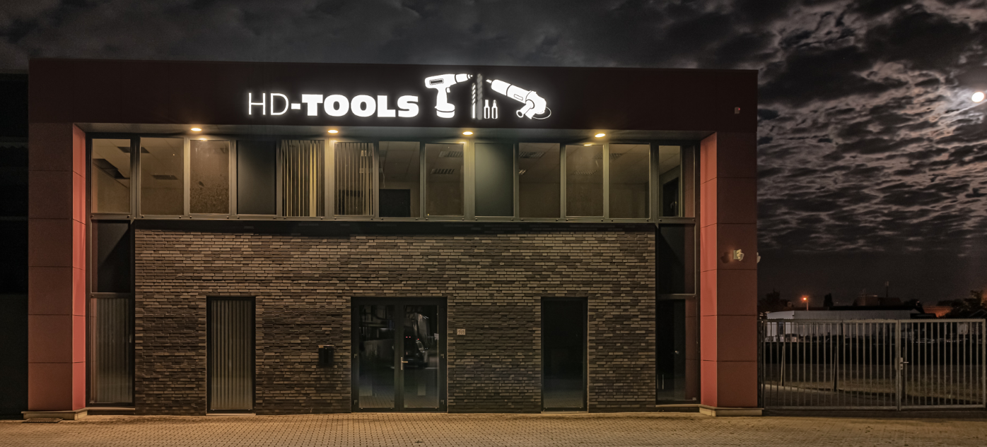 HD Tools gevelreclame letters