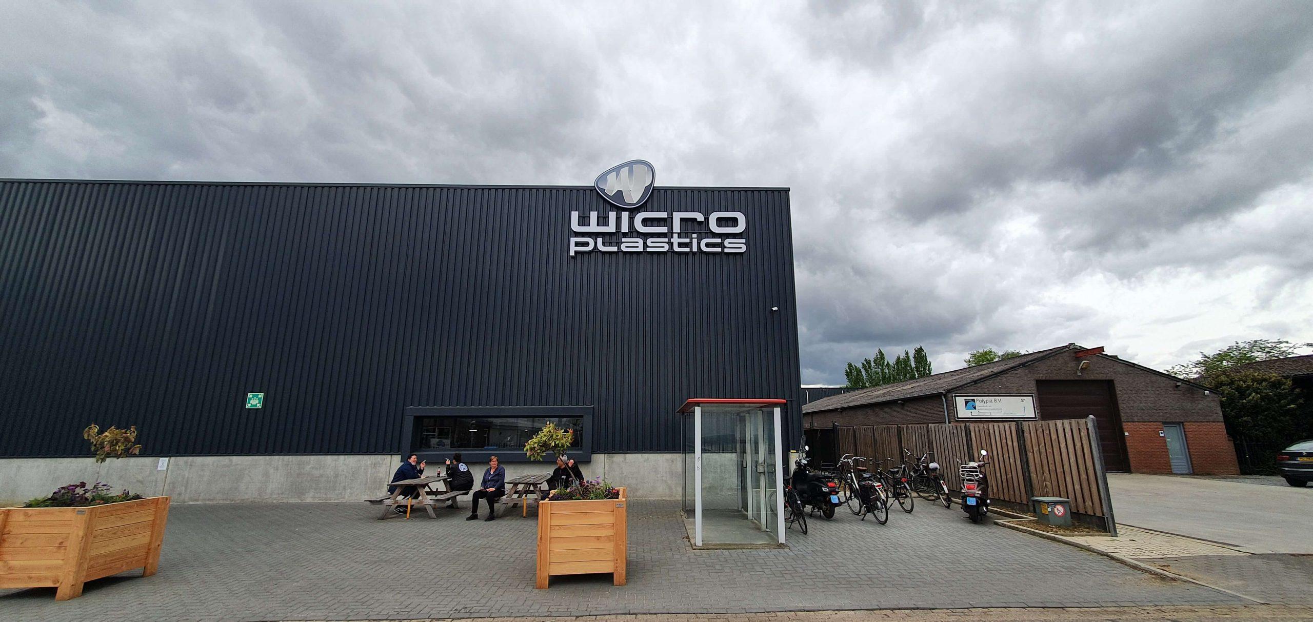 Gevelreclame bedrijfshal Wicro 5