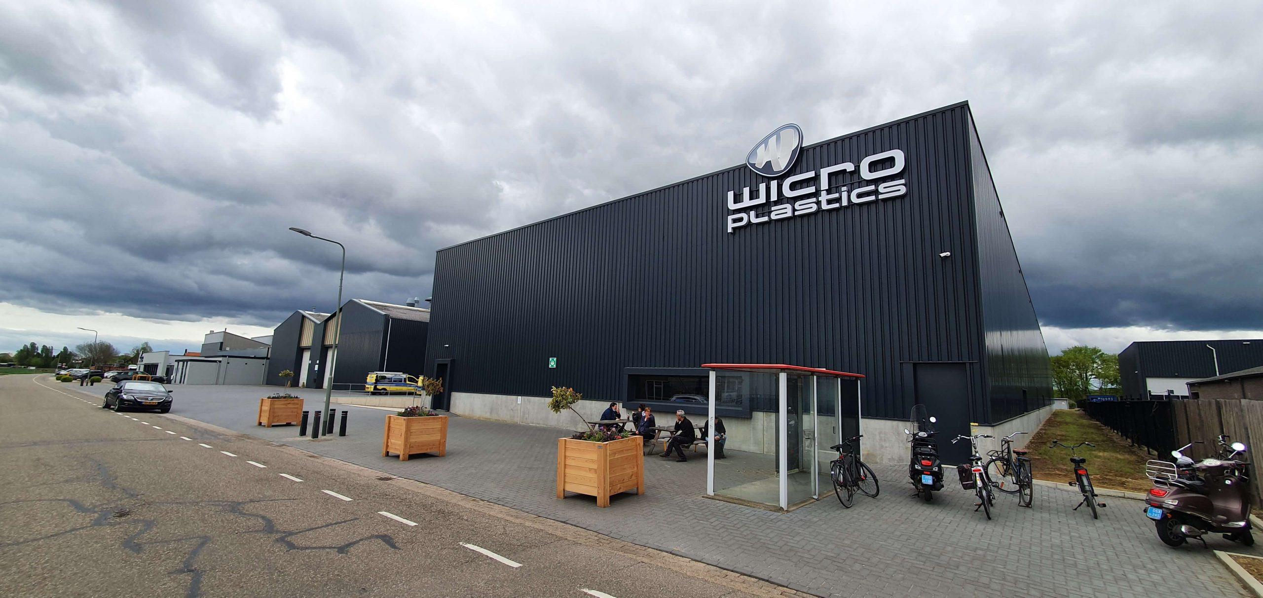 Gevelreclame bedrijfshal Wicro 4